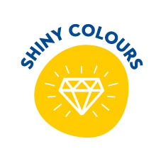 Shiny colours