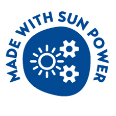 Made with sun power