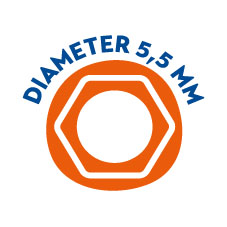 Diameter 5,5mm